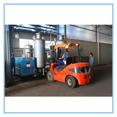 Blue High Pressure Nitrogen Generator System For Metallurgical Furance Heat Treatment